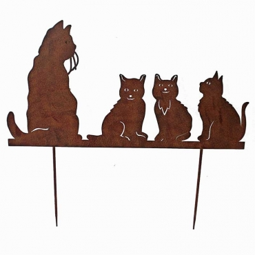 """SILHOUETTE """"FAMILLE CHATS"""""""